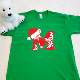Christmas Letters Adult Shirt