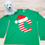 Christmas Letters Adult Long Sleeve Shirt