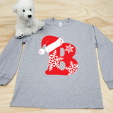 Christmas Letters Youth Long Sleeve Shirt