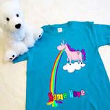 Barfing Unicorn Youth Shirt
