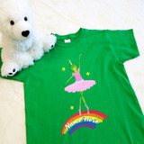 Frog Ballerina Unicorn Youth Shirt