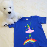 Frog Ballerina Unicorn Shirt in Baby and Toddler Sizes