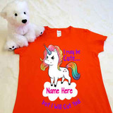 Tough Unicorn Ladies Fitted Shirt