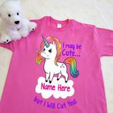 Tough Unicorn Adult Shirt