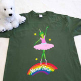 Frog Ballerina Adult Shirt