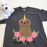 Ottercorn Unicorn Adult Shirt