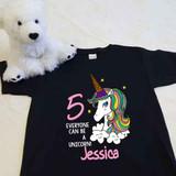 Ice Cream Unicorn Youth Shirt