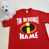 The Incredibles Themed | Short Sleeve Shirt in All Sizes