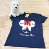 Minnie Castle Ladies Fitted V-Neck Shirt