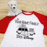 Your Family Does Disney Adult Raglan 3/4 Sleeve