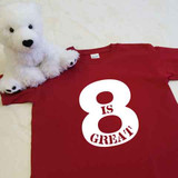 8 Is Great Youth Shirt