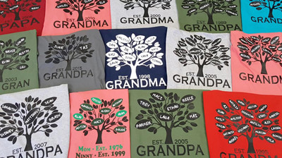 Family Tree Shirts are the Best