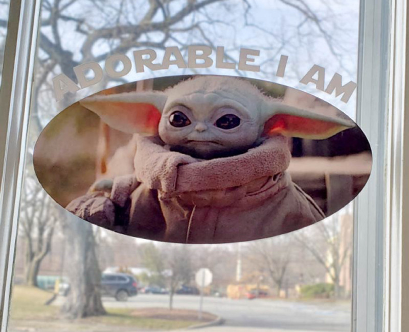 Adorable I Am Star Wars Decal Product Image