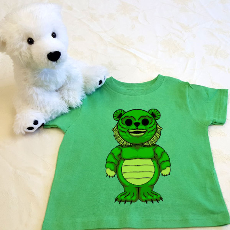 881438a31 Puddles of the Black Lagoon Shirt in Baby and Toddler Sizes