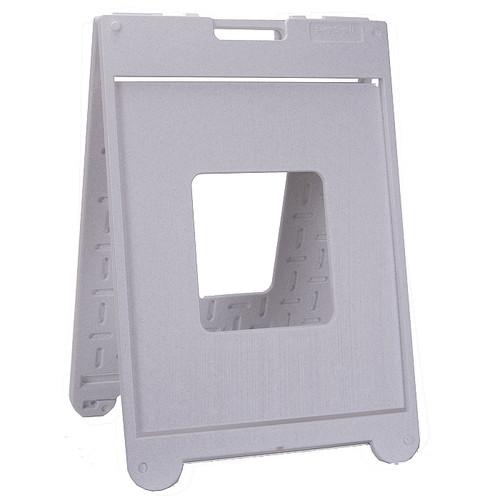 "White Granite 22"" x 28"" SimpoSign II A Frame Sign holder"