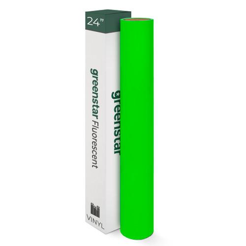 "24"" Greenstar Fluorescent Premium Vinyl 2.2mil"