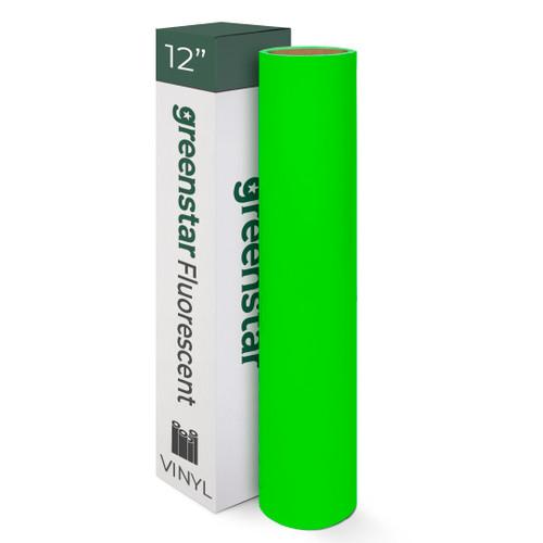 "12"" Greenstar Fluorescent Premium Vinyl 2.2mil"