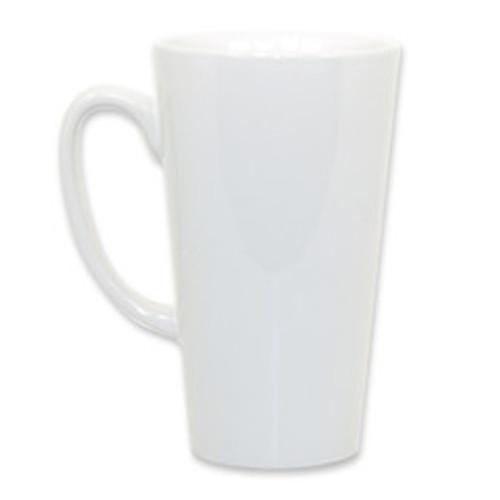 Blank Ceramic Sublimation Latte Mug (Coffee Cup) - 17oz, case of 24