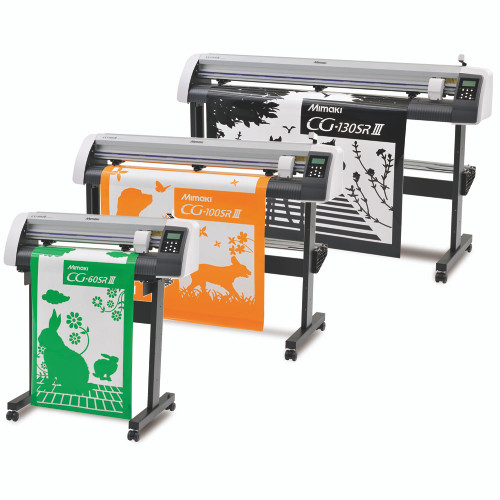 Mimaki CG-SR III Vinyl Cutter with Contour Cutting and Software