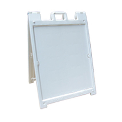 """White Mini Signicade Deluxe A-board - 8.5"""" x 11"""""""