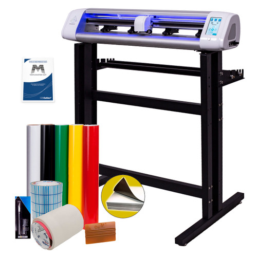 PrismCut P28 Vinyl Cutter Starter Kit w/ Stand, Cutting Software & Supplies