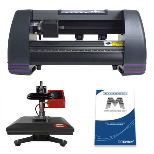 "14"" MH Craft Vinyl Cutter & 9"" x 12"" Heat Press Combo"