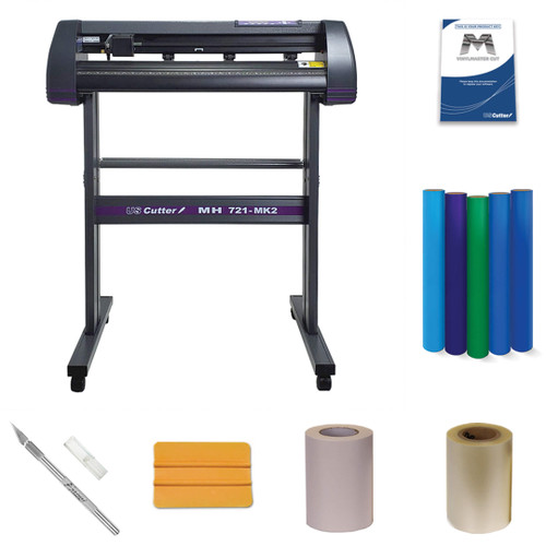 "USCutter MH Vinyl Cutter Starter Kit w/Media + Tools (28""/34""/50"")"