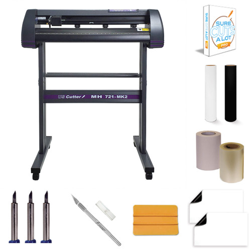 MH 721 Vinyl Cutter Value Kit w/ Sure Cuts A Lot Pro - Design & cut Software