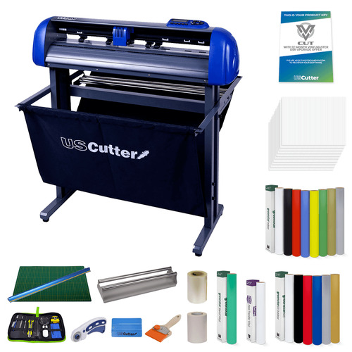 "The Cut Media Educational Kit w/ 28"" TITAN & VinylMaster Cut Software"