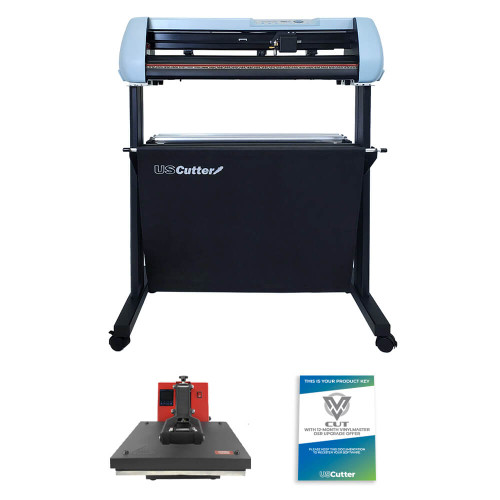 SC2 Vinyl Cutter & Heat Press Combo