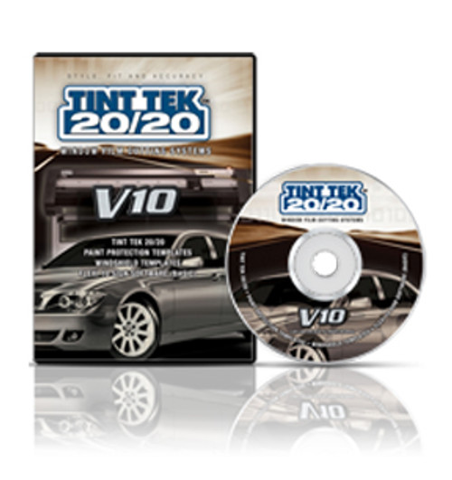 Tint Tek 20/20 Window Film Cutting Software V10 Monthly Subscription