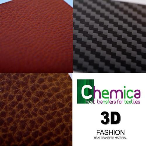 "15"" Chemica Sports 3D Fashion Heat Transfer Vinyl"
