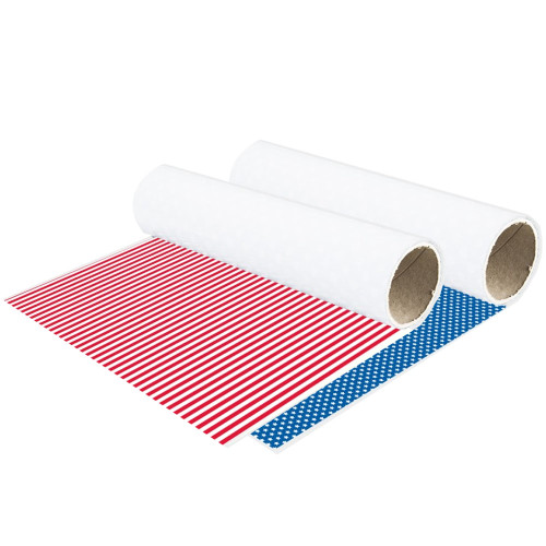"15"" Chemica Stars & Stripes Patriotic Heat Transfer Vinyl Patterns"