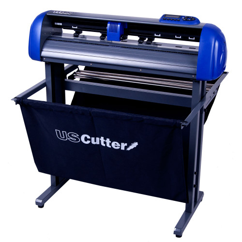 """Refurbished 28"""" TITAN Vinyl Cutter with Stand and Catch Basket"""