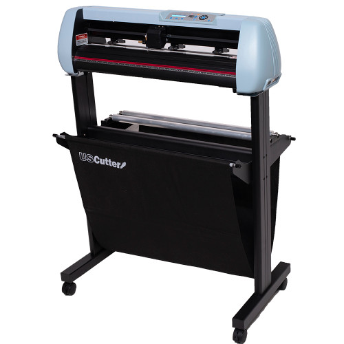 "Refurbished 28"" SC2 Vinyl Cutter with Stand and Catch Basket"