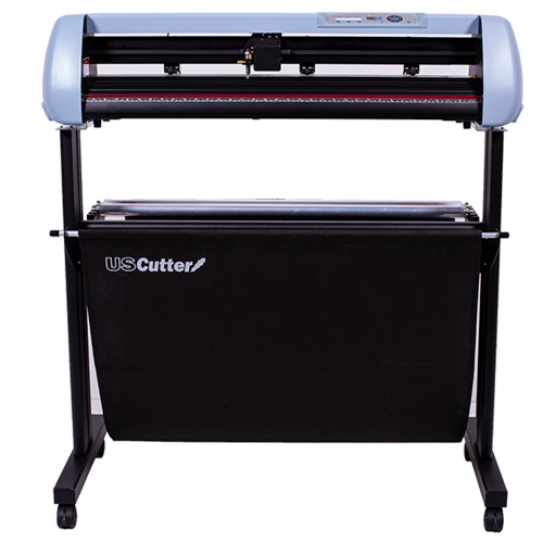 "Refurbished 34"" SC2 Vinyl Cutter with Stand and Catch Basket"
