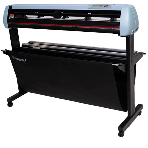 "Refurbished 53"" SC2 Vinyl Cutter with Stand and Catch Basket"