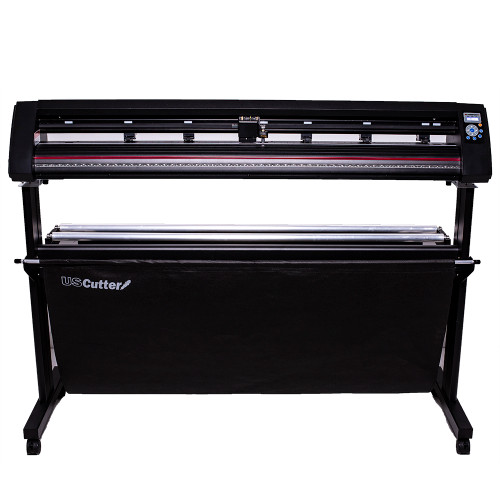 """Refurbished 53"""" LaserPoint 3 Vinyl Cutter with Stand and Catch Basket"""