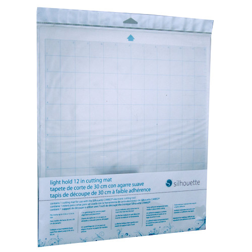 "Silhouette CAMEO Light Hold Cutting Mat, 12"" x 12"" Carrier Sheet"