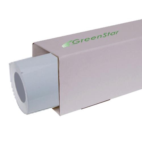GreenStar 3mil Aqueous Adhesive Backed White Matte Vinyl