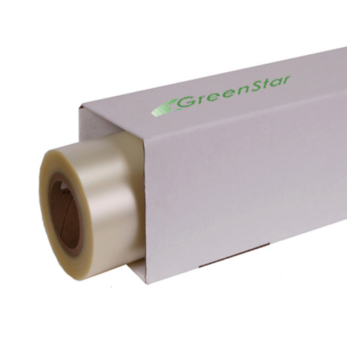 GreenStar 1mil Optically Clear Polyester Overlam for Perf Films