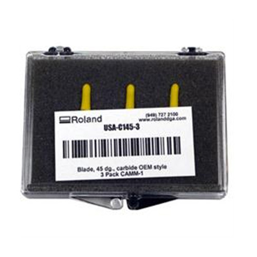 Roland 45 Degree Blades for Cast & Calendered Vinyl - Pack of 3