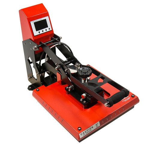 "Refurbished Atlas 15"" x 15"" Clamshell Auto-Open Heat Press"