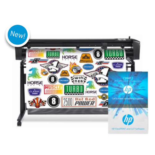 HP Latex 54in Basic Vinyl Cutter