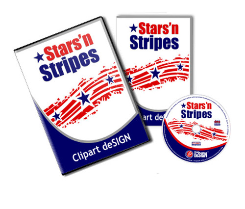 Stars'n Stripes Vector Clip Art