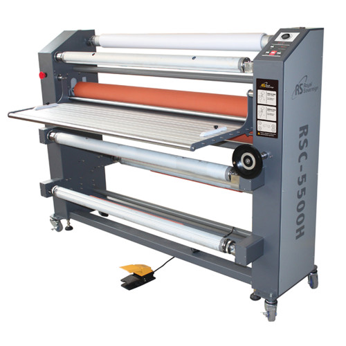 "Royal Sovereign 55"" Heat Assist Top Roller Wide Format Laminator RSC-5500H"
