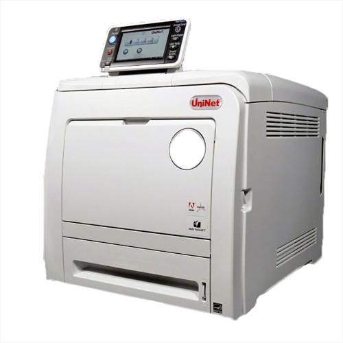 UniNet iColor 550 CMYK + White Toner Printer w/ ProRIP & SmartCUT Software