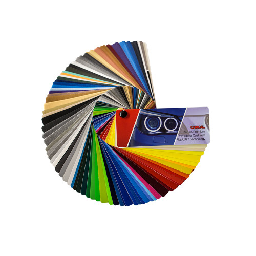 Oracal 970RA Premium Wrapping Cast RA Color Fan