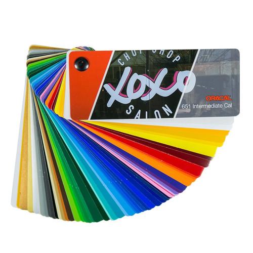 ORACAL 651 Intermediate Vinyl Color Fan