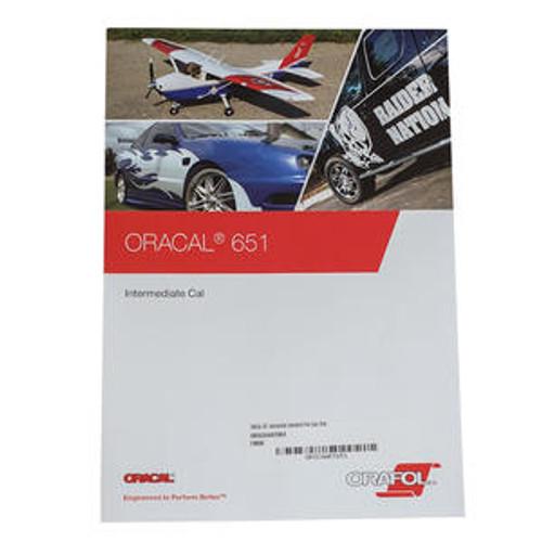 ORACAL 651 Intermediate Color Chart